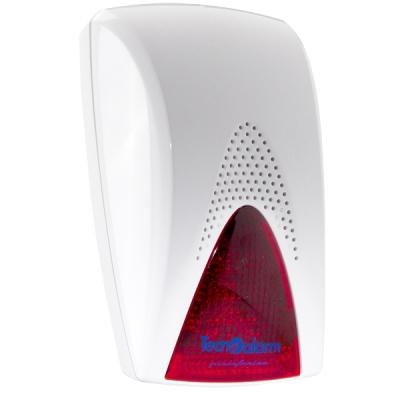 SIREL-LED-R Vnitřní siréna, 90dB, červený LED blikač