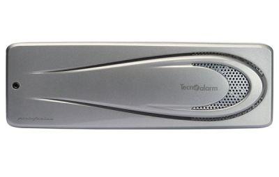 SIRTEC-S Vnitřní zálohovaná siréna 117dB@1m, stříbrná