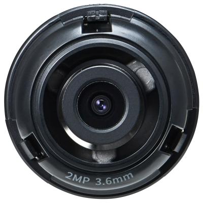 SLA-2M3600D Pevný objektiv 3.6mm 2MPx pro multisenzor kameru PNM-7000VD