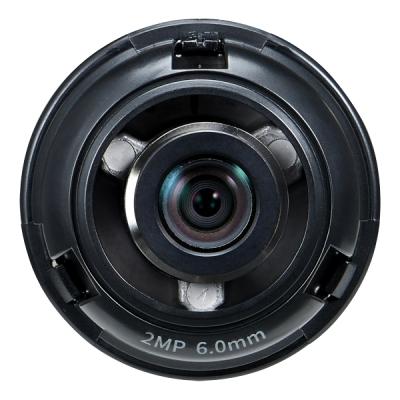 SLA-2M6000D Pevný objektiv 6.0mm 2MPx pro multisenzor kameru PNM-7000VD