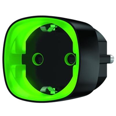 Socket-B Dálkově ovládaný zásuvkový adaptér, černý