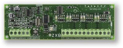 ZX8SP Rozšiřující modul 8 smyček pro ústředny SPECTRA
