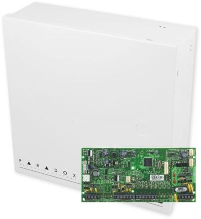 SP5500 + BOX Zabezpečovací ústředna 5-32 smyček, 2 podsystémy