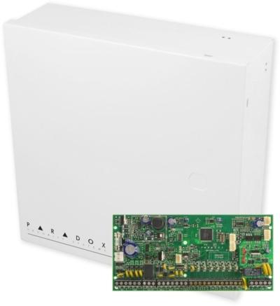 SP6000 + BOX Zabezpečovací ústředna 8-32 smyček, 2 podsystémy