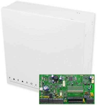 SP7000 + BOX Zabezpečovací ústředna 16-32 smyček, 2 podsystémy