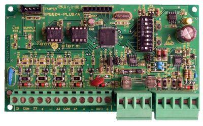 SPEED-4-PLUS Externí modul rozšíření 4 vstupy, 1 vstup BUS