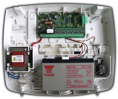 SPEED-ALM-8-PLAST Externí modul rozšíření 8 vstupů se zdrojem 1.8A