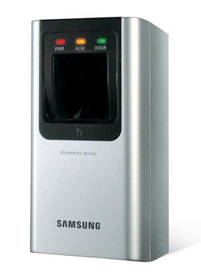 SSA-R2010 Vnitřní snímač otisků prstů se čtečkou karet Samsung, 1 000 otisků