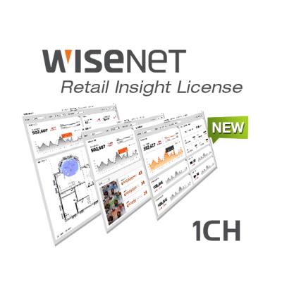 SSI-CR01L SW licence pro záznam 1 kamery Retail Insight 2.0