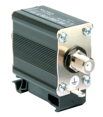 SX-090-F75-F/F Přepěťová ochrana satelitního vedení SAT 75Ohm
