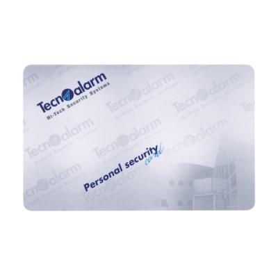 TA-CARD-G Proximitní osobní bezpečnostní karta, šedá