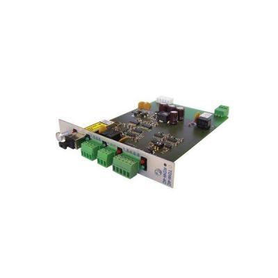 RDW-4C-RACK Přijímač video a RS-485 po optickém kabelu, pro RACK
