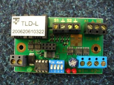 TLD-L-P Řídící jednotka LOCK pro 2 terminály