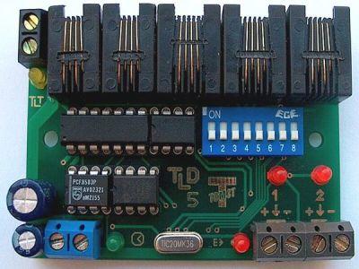 TLD-LN Řídící jednotka LOCK-NET pro 2 terminály