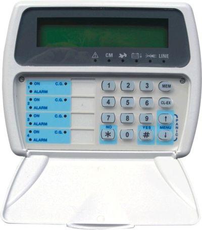 TP-020-LCD Klávesnice s indikací LED a LCD displejem