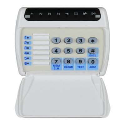 TP-06-LED Klávesnice s indikací LED pro ústřednu TP 4-20