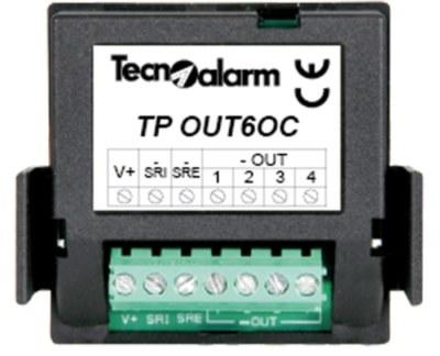 TP-OUT-6OC Interní rozšiřující modul pro ústřednu TP-8-28