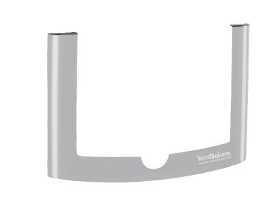 UTS-C/V-G Krycí rámeček pro klávesnici UTS C/V, barva kovově šedá