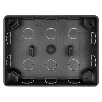 UTS-C/V-BASE Zápustná montážní plastová krabice pro klávesnici