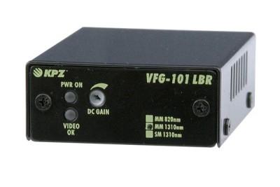 """VFG-101-LBR-M3 Přijímač videosignálu zoptického kabelu, dosah 5km, PM-1.5"""""""
