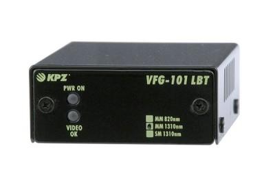 """VFG-101-LBT-M3 Vysílač videosignálu po optickém kabelu, dosah 5km, PM-1.5"""""""