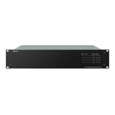 VP-3504 Certifikovaný digitální koncový zesilovač 4x500W