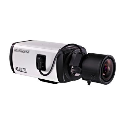 WNC-833-FE IP kamera 0.3MPx box s volitelným objektivem, ONVIF