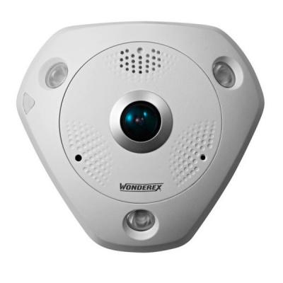 WNF-62C2-I Venkovní IP kamera 12MPx fisheye dome, IR přísvit, ONVIF