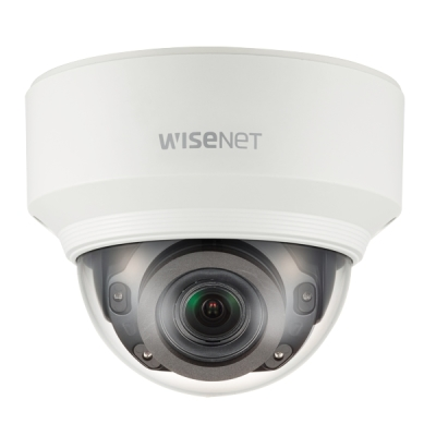 XND-6080RV IP kamera 2MPx dome WiseNet X, hliníkový kryt