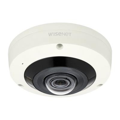 XNF-8010RVM IP kamera 6MPx dome rybí oko 360°, IP66, pro dopravní prostředky WiseNet X