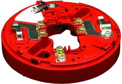 YBO-R/3(RED) Červená patice pro sirény